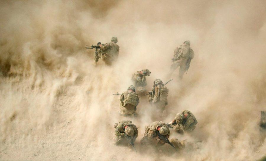 U.S. troops in Afghanistan in 2011