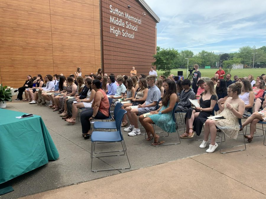 2021 NHS Induction ceremony